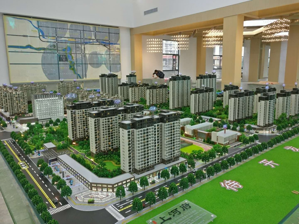 为什么售楼处都有一座精致的广州沙盘模型? 有了它售楼更迅速了