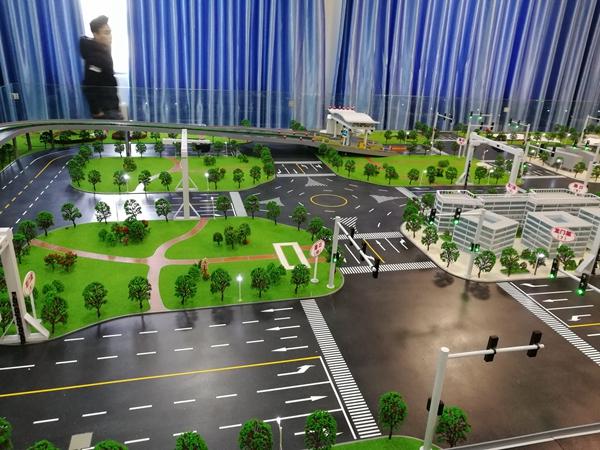 郑州大学交通模型