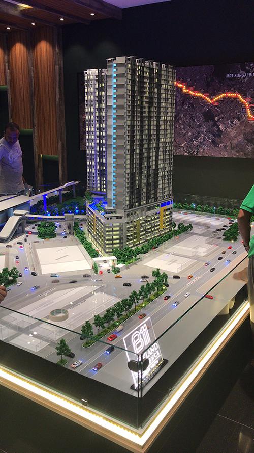 吉隆坡公园模型2