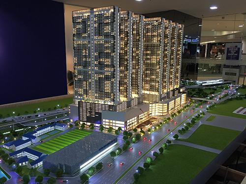 吉隆坡KLCC模型3