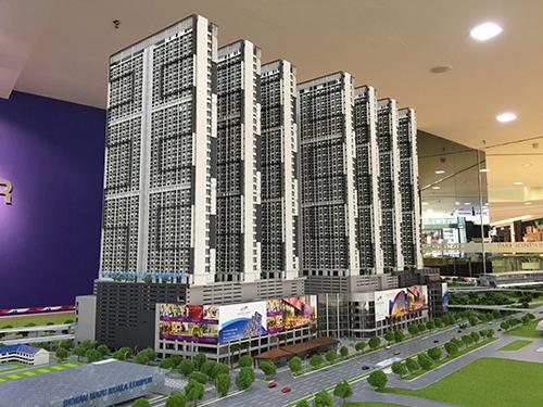 吉隆坡KLCC模型4