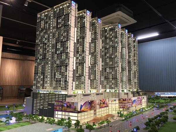 吉隆坡KLCC模型