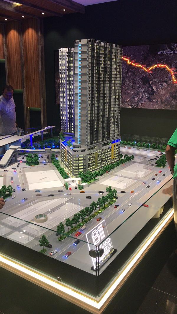 吉隆坡公园模型