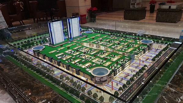 湖南长沙商贸城模型