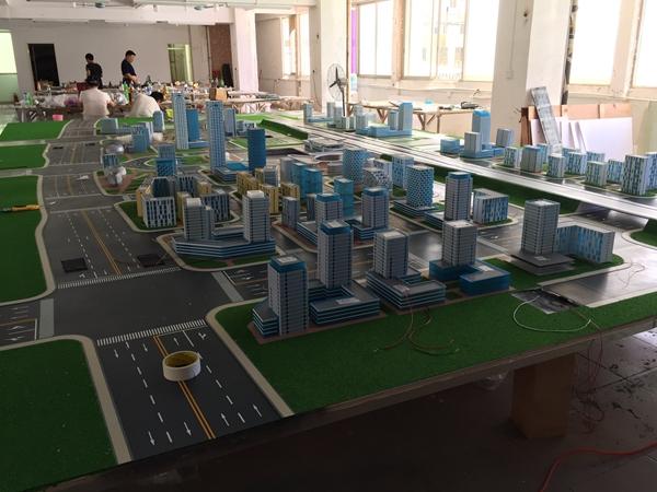 平顶山城建学院交通模型